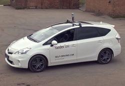 В Сети показали видео беспилотного автомобиля от «Яндекса»