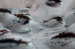 На Марс пришла весна - новые снимки НАСА