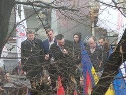 Оппозиция под стенами Рады требует евроинтеграции