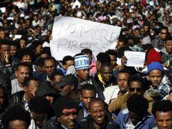 """Митинги в Израиле организованы """"внешними силами"""" - СМИ"""