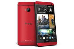 На «живых» фото засветился HTC One (M8) красного цвета