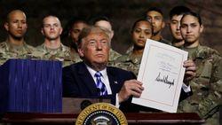 Трамп подписал рекордный военный бюджет