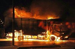 Под Одессой взорвался грузовик с зерном – последствия