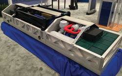 В США изготовили боевой лазер третьего поколения
