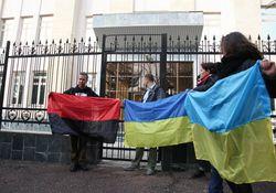 В Ташкенте прошла акция в поддержку украинского Майдана