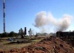 Журналист показал видео сильного обстрела сил АТО на горе Карачун