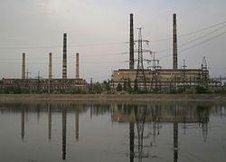 Славянск в огне: в результате боев в городе серьезно повреждена ТЭС