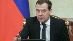 """Медведев жестко отчитал гендиректора """"Первого канала"""""""
