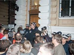Одесская милиция обещает наказать участников пикета в поддержку Маркова