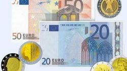 Курс евро укрепляется к доллару до 1.2695 на Forex