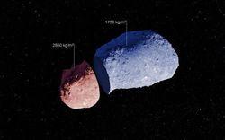 """Что таит в себе """"ядро"""" астероидов - Европейская Южная Обсерватория"""