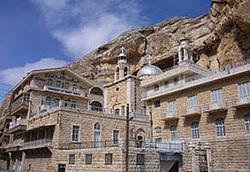 Монастырь в Сирии