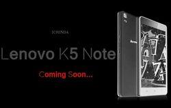 В Сети появились характеристики Lenovo K5 Note