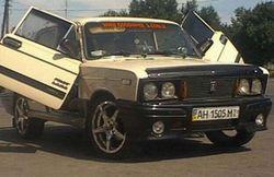 Российские автомобили в этом году в Украину не поставляли