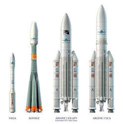 Ракета-носитель Arian 5 отметила свой 250-й запуск