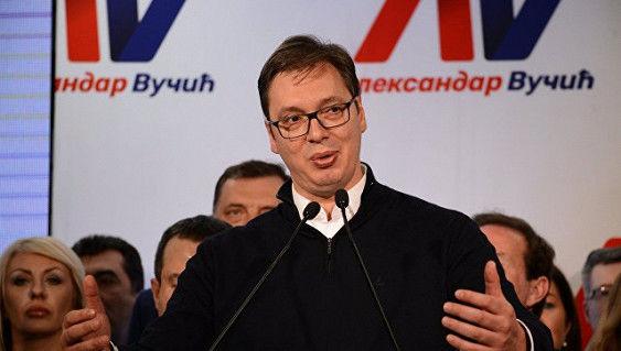 ВСербии проходят протесты против Вучича