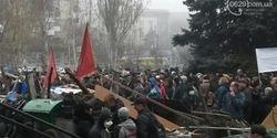 Итог штурма воинской части в Мариуполе: 3 убитых, 13 раненых, 63 задержанных