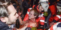ГосЧС: события в Киеве на ул. Грушевского не имеют признаков чрезвычайной ситуации