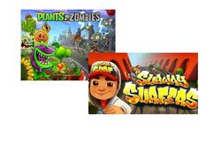 """""""Растения против Зомби"""" и Subway Surfers названы самыми популярными играми для Android"""