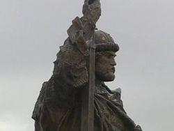 Президент Владимир Путин открыл памятник князю Владимиру в Москве