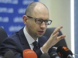 Яценюк уверяет, что не позволит расчленить Украину