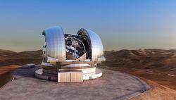 Ради установки большого телескопа в Чили снесут верхушку горы