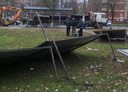 В Киеве во время конфликта с застройщиками умер местный житель