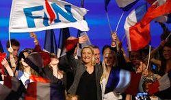 На выборах во Франции в большинстве регионов лидирует партия Ле Пен