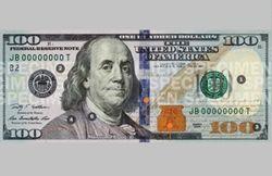 Напечатать 100 долларов стоит 14 центов: новая купюра вышла в свет