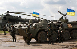 В захваченных городах Донбасса боевики разрушают предприятия олигархов