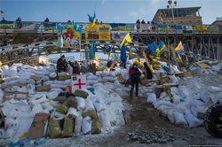 На Майдане в Киеве ввели комендантский час