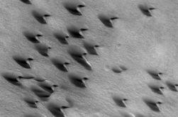 Песчаные дюны помогут ученым понять систему ветров на планетах