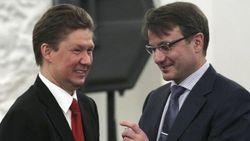 Алексей Миллиер и Герман Греф