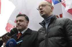Лидеры оппозиции поехали в Генпрокуратуру, а Автомайдан навестил дом Пшонки