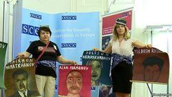 Демонстрация в Вене против пыток в Узбекистане