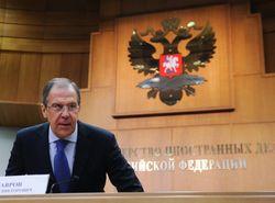Министр иностранных дел РФ Лавров