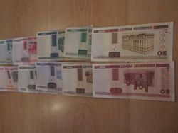 Курс белорусского рубля снизился к фунту и франку