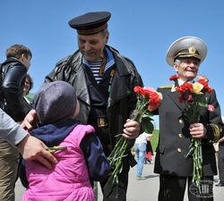 Украина впервые отпраздновала День Победы не по-советски