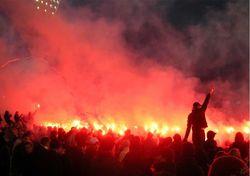 В Украине установлены личности футбольных хулиганов, виновных в санкциях ФИФА