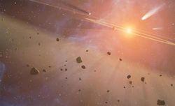 """Астероидный пояс между Марсом и Юпитером является осколками """"мигрирующих планет"""""""