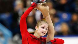 Страница участницы Олимпиады-2014  Юлии Липницкой подлинная – Вконтакте