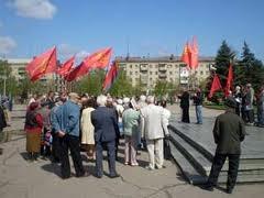 В Славянске спели Интернационал и решили создать свою городскую республику