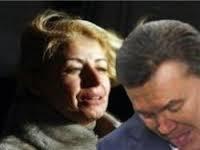 Янукович и его советник Анна Герман