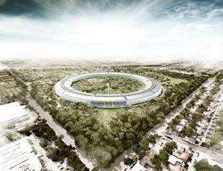 Новый офис Apple будет «космическим кораблем».