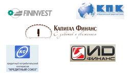 20 популярных кредитных союзов России сентября 2014г. в Интернете