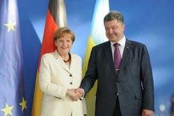 """Порошенко и Меркель верят в """"нормандский формат"""" и могут к нему привлечь США"""
