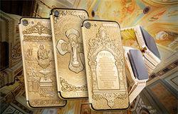 К Пасхе в России выпустили золотые православные iPhone 7 от 3500 долларов