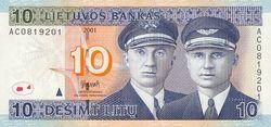Курс доллара США растёт к литу на фоне ожиданий ввода евро в Литве