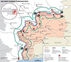 Россия не создает буферную зону в Донбассе, а лишь содействует ОБСЕ – МИД РФ