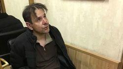 Борис Гриц после нападения на Т. Фельгенгауэр